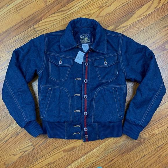 Patagonia Jackets & Blazers - Patagonia High Rise Hemp Denim Jacket NWT